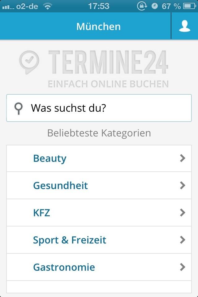 Termine24 für Kunden